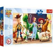 Puzzle Trefl 100 Eroii Toystory4