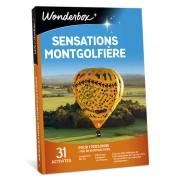 Wonderbox Coffret cadeau Sensations montgolfière - Wonderbox