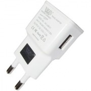 Fleejost One USB Port Samsung Charger Adapter for All Devices - White
