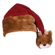 Wild Republic Tassel Reindeer Santa Hat