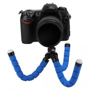 ELECTROPRIME Universal Mini Flexible Octopus Tripod Mount Holder for Mobiles Phone Camera