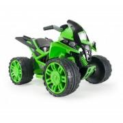 Cuatri Moto Quad Beast Verde Injusa 6V Freno Eléctrico