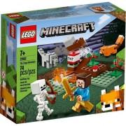Lego Minecraft, Aventura din Taiga, 74 piese, 21162