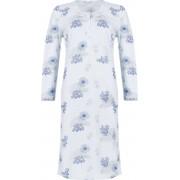 Pastunette Dames nachtjapon blauwe bloemen Pastunette