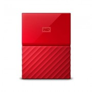DISCO DURO EXT USB3.0 2.5 2TB WD MY PASSPORT ROJO