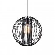 [lux.pro]® Dekorativna dizajn viseća svjetiljka / stropna svjetiljka - crno (1 x E27) - model 10