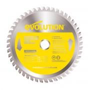 Disc pentru fierastrau circular, taiere inox Evolution EVOEVOBLADESS-0439, O180 x 20 mm, 48 dinti