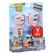 Set Figurine Disney Crossy Roads Mini Figures 4 Pack
