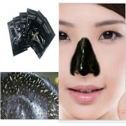 New 6pcs Activated Black Charcoal pore Deep Cleansing Nose Face Blackhead Remover Mask