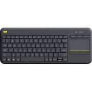Logitech K400 Plus Wireless Touch Keyboard (Black) {856435}