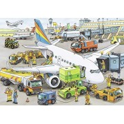 Ravensburger Busy Airport Floor Puzzle (35 Pieces)