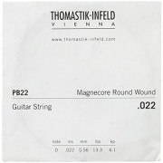 Thomastik-Infeld PB22 Electric Guitar Strings: Power-Brights Magnecore Round Wound - Single D String
