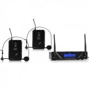 UHF-450 Duo2 Set radiomicrofoni UHF 2 canali