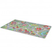 vidaXL 132728 Play Mat Loop Pile 133x190 cm City Road Pattern