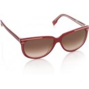 Fendi Oval Sunglasses(Brown)