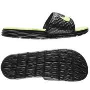 Nike Badslippers Benassi Solarsoft 2 - Zwart/Neon