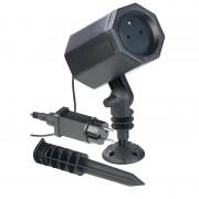 Lunartec Laser-Projektor mit 3 Sternen-Effekten, innen & aussen, 2,5 Watt, IP44