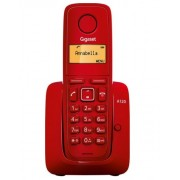 Telefon digital fara fir Gigaset Dect A120 Red