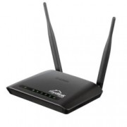 Рутер D-Link DIR-605, 300Mbps, 2.4 GHz (300Mbps), Wireless N, 4x RJ-45, 2 външни антени