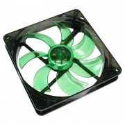 Ventilator Cooltek Silent Fan 140 Green LED