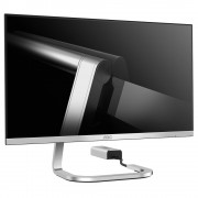 "AOC PDS241 23.8"" Full HD LED Silver computer monitor"
