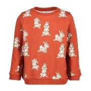 Mickey Roestbruine sweater Disney met print