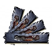 Memorie G.Skill Flare X (For AMD), DDR4, 4x8GB, 2400MHz, CL16 (Negru)