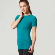 Myprotein Seamless T-Shirt - XL - Green/Blue