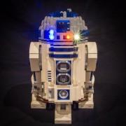 R2-D2 Lighting Kit for Lego 10225 (Lego set not included) by Light My Bricks