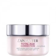 Lancaster Total Age Correction Amplified anti-aging rich day cream & glow amplifier spf 15