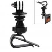 Support de rotation à 360 degrés pour enregistreur de données d automobile pour GoPro Hero 4 / 3+ / 3/2/1, SJCAM SJ6000 / SJ5000 / SJ4000 (Noir)