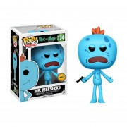 Funko Pop Mr Meeseeks Chase De Rick And Morty