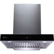 Seavy Classic Stainless Steel 60cm Auto Clean Wall Mounted Chimney(Silver 1200 CMH)