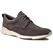 Обувки CLARKS - Tynamo Walk 261244837 Dark Grey Suede
