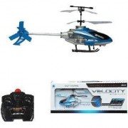 AARNA'S Amazing Flying Velocity Helicopter with Remote Control (Multicolour)