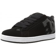 DC Men s Court Graffik SE Skate Shoe Black Wash 8 D(M) US