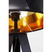 Kare Design - Vloerlamp Stright Tripod - Mat Zwart