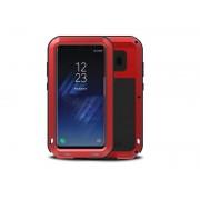 4kom.pl Etui Pancerne Love Mei Samsung Galaxy S8+ Plus Czerwone +szkło
