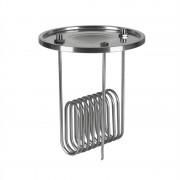 """Klarstein Gärkeller, охладител, потапящ охладител, 1/2 """"сензор бар, 304 неръждаема стомана (FP3-Gärkeller Deckel)"""