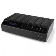 StarTech.com - Base Dock USB 3.0 y eSATA Duplicador de Discos Duros con 6 Bahías SATA - Clonador y Borrador de Disc