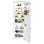 Combina frigorifica Liebherr ICBN 3366, incorporabil, A++, 176+57 litri, no frost, alb