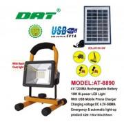 Прожектор светодиодный на солнечной батарее DAT AT-8890