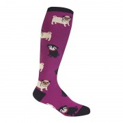 Sock It To Me Pug Life Knee High Socks