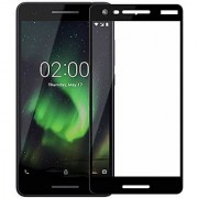 Vinimox 6d tempered glass for Nokia 2.1(black)