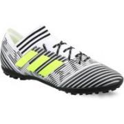 Adidas NEMEZIZ TANGO 17.3 TF Football Shoes For Men(Black, White)