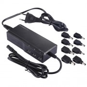 GSA090TD-3BP 90W Universal Laptop Notebook AC / DC Power Adapter with 3 USB Ports & 8 PCS Tip Connectors AC 100-240V