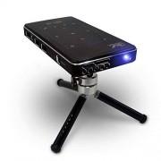 XuBa IMK95 DLP 4K HD Mini proyector portátil de vídeo para el hogar, 2G+16G