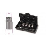 Beta Assortiment van ruimers voor het reinigen van injector zittingen. In kunststof koffer 960PI