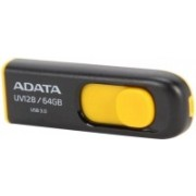 ADATA AUV128-64G-RBY 64 GB Pen Drive(Yellow)