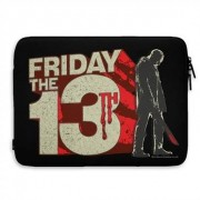 Friday The 13th Block Logo Laptop Sleeve, Laptop Sleeve
